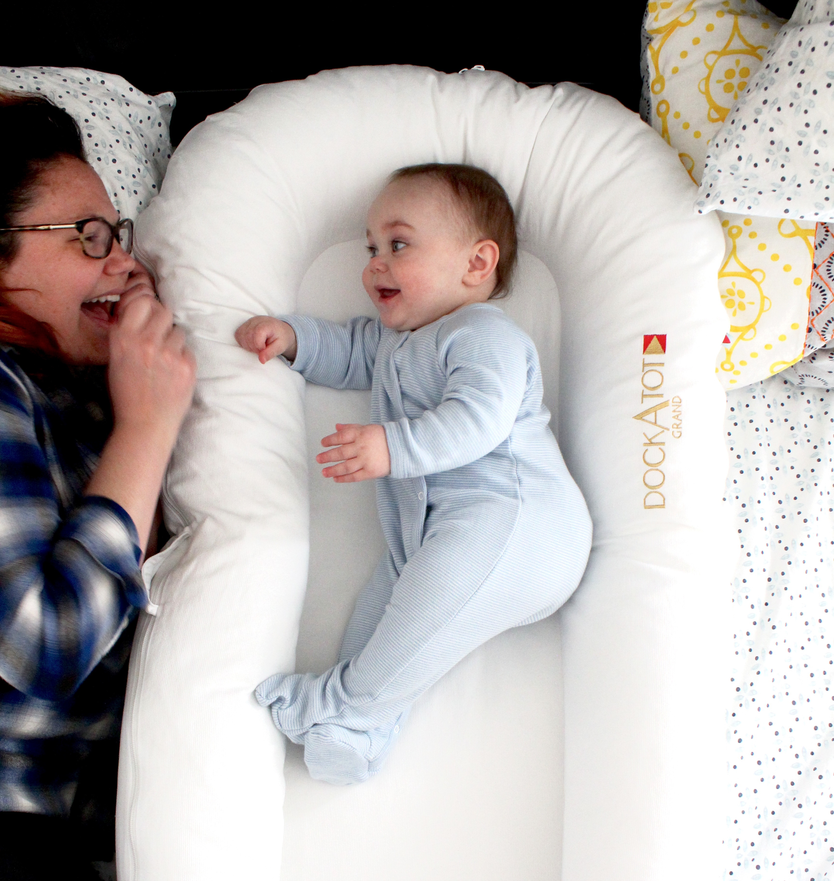 Co Sleeping With Our Dockatot Life With The Lucentes